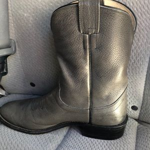 olathe Shoes - Olathe men's grey boots sz 9.5 great condition